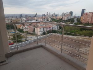Klasik Paslanmaz Balkon Korkuluğu
